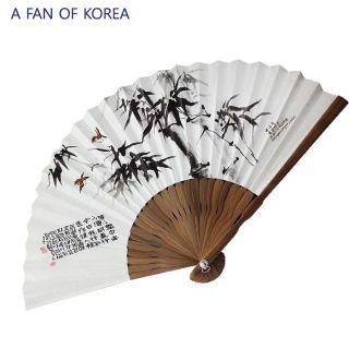 Korean Arts Beautiful Fans of Korea Puchae Folding Fans 5 1