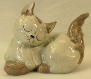 Kay Finch California Pottery Beautiful Cat Figurine Jezebel Excellent
