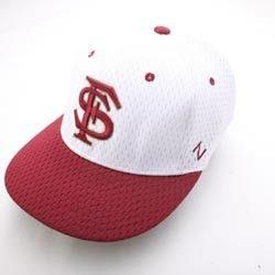 Florida State Seminoles NCAA Hat Cap ZHS Custom Jersey FS Zhat White