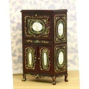 Dollhouse Miniature Fine Furniture Portia Desk Sale