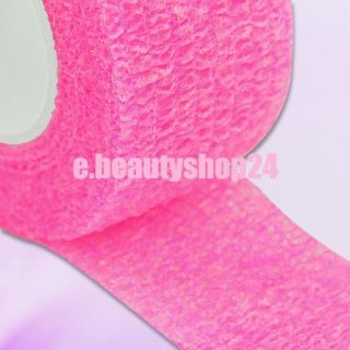 Pink Nail Technician Tapes Wrap Finger Bandage Protect