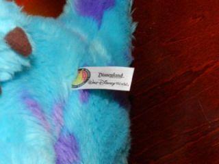 Monsters Inc Mike Sully Plush Disney Pixar Stuffed Animal Toy Finger