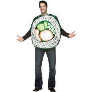 Sushi Roll Fish Food Adult Halloween Costume