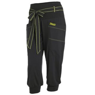 Zumba Black Fame Capri Pants New from 2012 Convention All Sizes
