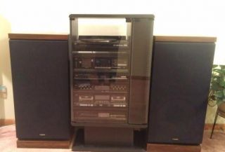 Studio Stamdard Fisher Stereo Home System Turntable Tuner Cassette