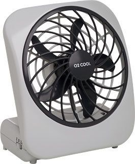 Indoor Outdoor O2 Cool Brand Battery Operated Desk Fan 1041