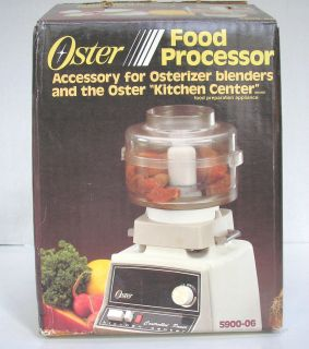 OSTER mini FOOD PROCESSOR ACCESSORY 5900 Kitchen Center OSTERIZER