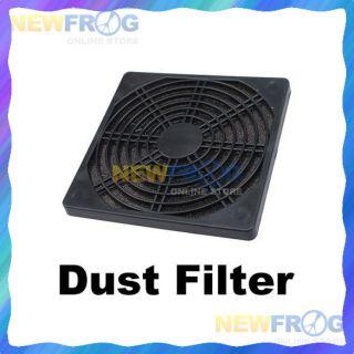 Dustproof 120mm Dust Filter Computer Cooler Fan C
