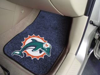 Dolphins NFL 2 Piece Car Truck Front Floor Mats by Fan Mats