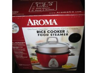 Aroma Rice Cooker Food Steamer Arc 733 1NGR New