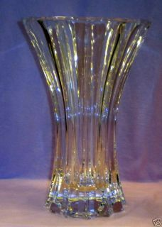 Riedel Large Heavy Bouquet Flower Vase Signed