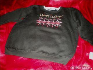 Christmas Flamingos Dancing Cancan sweat Shirt 1x 2X 3X