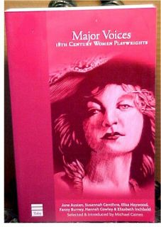 Major Voices 18th Century Women Playwrights Anthology 1592640583