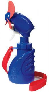 Hand Held Water Fan Battery Operated Mister Cool Air BL