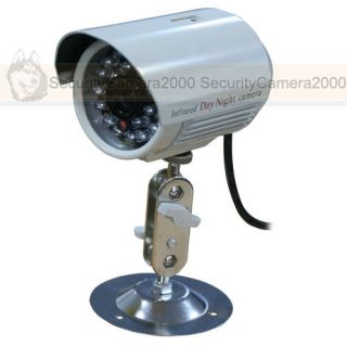 2CH VGA Real Time IR Outdoor Security Camera USB Laptop PC DVR System