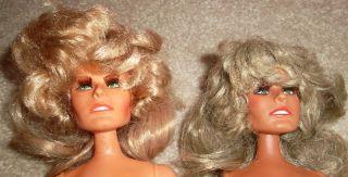 1975 Mego Farrah Fawcett Dolls