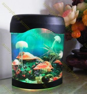 Colorful LED Light Electronic Toys Jellyfish Aquarium Fish Tank