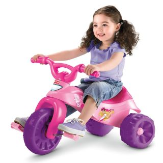 Barbie Fisher Price Barbie Tough Trike Princess Ride on Big Wheel