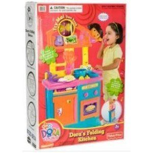 Fisher Price Dora The Explorer Kitchen Lets Go Adventure Playset