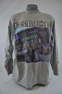 FJ560 Fat Joe Clothing Grey Long Sleeve Fat Joe in Memory of Tony