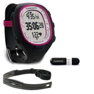 Garmin FR70 Womens Heart Rate Monitor Watch Pink Fr 70 HRM for Women