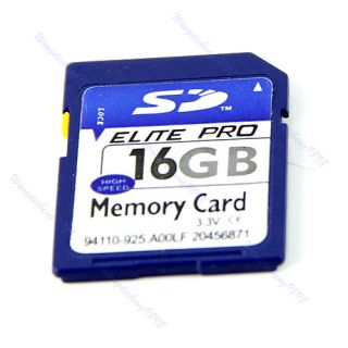 16g SD Secure Digital Flash Memory Card for Camera GPS Case