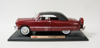 1950 ford this auction is for 1950 ford diecast model car maisto 1 18