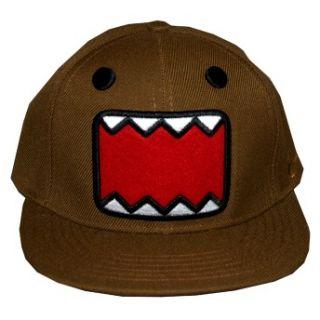 Domo Kun Brown Face Japan Adjustable Flat Bill Hat Cap