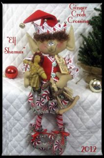 22 Shamus Elf Toy Maker Elf Ginger Creek Crossing Elves