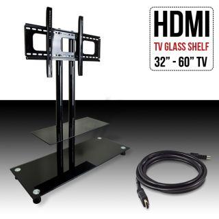 Plasma LCD Flat Panel Console Shelf Wall Mount TV Stand 32 to 60