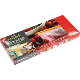 Airtight Food Storage Sealing Rods Bags Anylock EX2