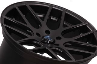 20 Ford Mustang GT Rohana RC26 Concave Black Staggered Wheels Rims