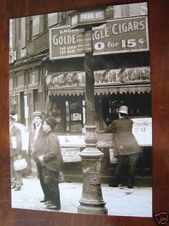 1907 Park Five Points Manhattan New York NY Post Card