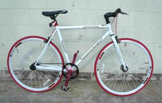 Fixie Fixed Gear Racing Bicycle Bike RD 269 48 53cm White