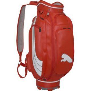 Puma Formation 10 Staff Golf Bag Red