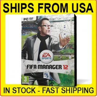 FIFA Manager 12 Soccer Football EA Sports PC Game 2011 BOXED DVD
