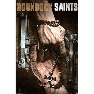 Boondock Saints Poster Gun Rosary Willem Dafoe MacManus