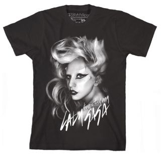 Lady Gaga T Shirt Monster Ball Tour Cigarette Glasses