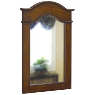 Belle Foret BF80055 French Country Single Wall Mount Mirror Dark