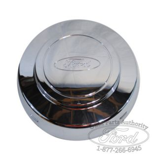 New Ford E 250 E 350 Alum Wheel Center Cap Front