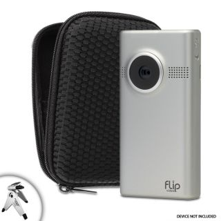 Protective HardShell Slim Camera Case for Flip Mino HD , Ultra HD and