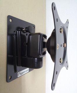 LCD FLAT TV WALL MOUNT TILT SWIVEL for Vizio TV 13 27 Vesa75 100 WBTI