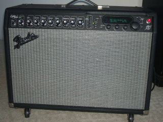 Fender Cybertwin Amp Electric Guitar Amplifier With Cyber Foot