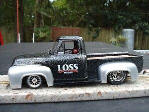 1956 FORD F100 DRAG SLOT CAR