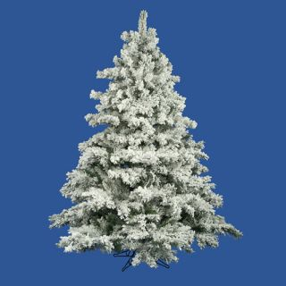Colin cowie 9 flocked white artificial christmas tree for Christmas tree items list