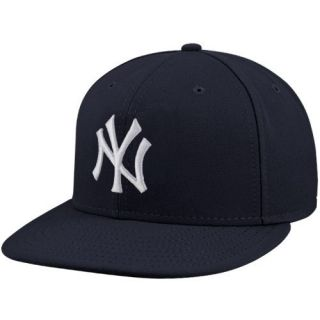 New Era New York Yankees Youth Navy Blue Authentic 59Fifty Fitted Hat