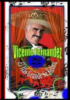 Vicente Fernandez DVD El Mas Grande Se Retira 99 Music Videos Mexico