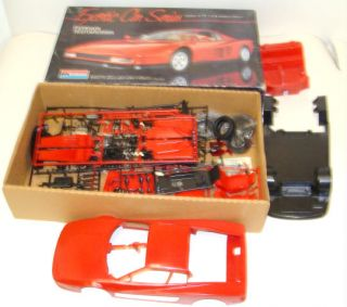 Monogram Exotic Car Series Ferrari Testarossa 1 12 Vintage Model Kit