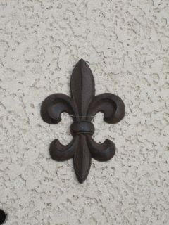NEW IRON FLEUR DE LIS WALL HANGING HOME DECOR LOUISIANA FRENCH ART