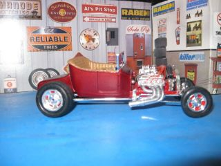 27 Ford T Bucket Hot Rod Wired Nicely Built